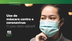 máscara para prevenção